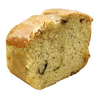 Central Market Hatch Lime Pound Cake Slice, 2.75 oz