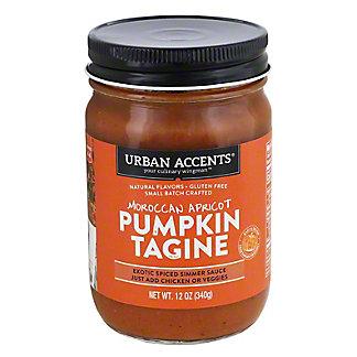Urban Accents Moroccan Apricot Pumpkin Tagine, 12 oz