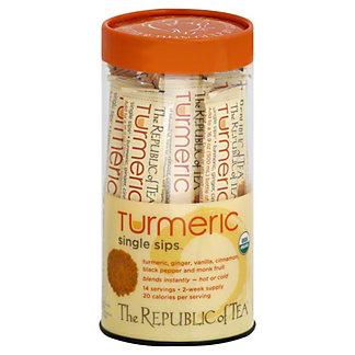 The Republic of Tea Turmeric Single Sip Tea, 14 ct