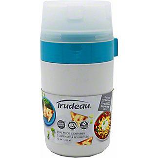 Trudeau Fuel Dual Food Container, Ea