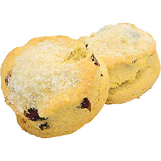 Central Market Cranberry Orange Scones without Sugar Topping, 2 ct