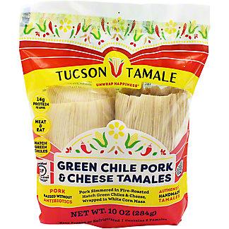 Tucson Tamale Green Chile Pork & Cheese, 10 oz
