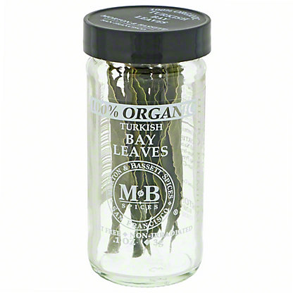 M&B SPICES Turkish Bay Leaves, .1 oz