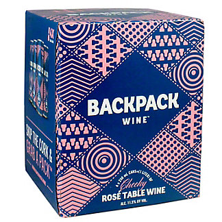 Backpack Cheeky Rose Table, 4 pk