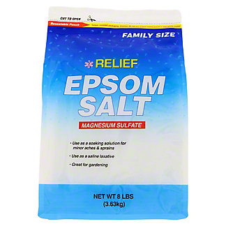 Relief MD Epsom Salt, 8 lb