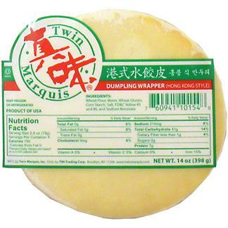 Twin Marquis Hong Kong Style Dumpling Wrapper, 16 oz