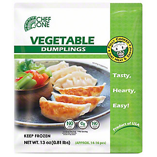 Chef One Vegetable Dumpling, 13 oz