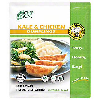 Chef One Kale & Chicken Dumpling, 13 oz