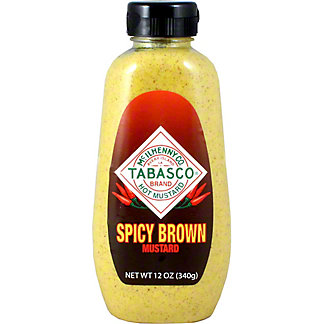 TABASCO MUSTARD BROWN SPICY