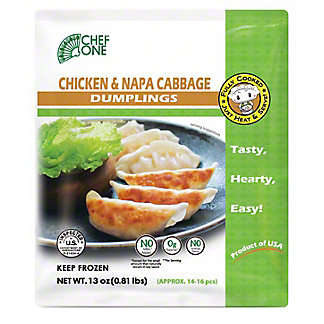 Chef One Chicken & Napa Cabbage Dumpling, 13 oz