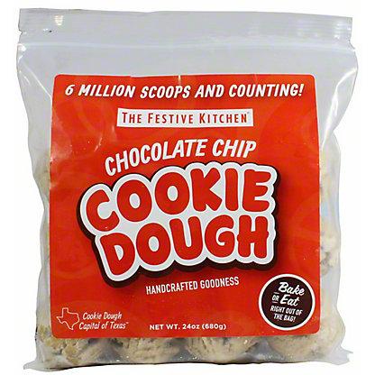 Festive Kitchen Chocolate Chip Cookie Dough Balls, 24 Oz