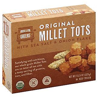 Rollin Greens Sea Salt Onion Millet Tots, 11.5 oz