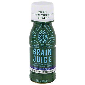 BrainJuice Caffeine Free Liquid Focus, 2.5 oz