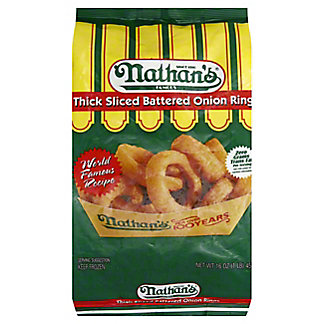 Nathan's Famous Onion Rings, 16 oz