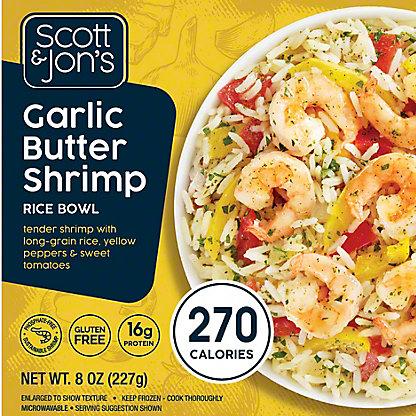 Cheating Gourmet Garlic Butter Shrimp Rice Bowl, 8 oz.