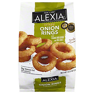 Alexia Crispy Onion Rings with Panko & Sea Salt, 13.5 oz