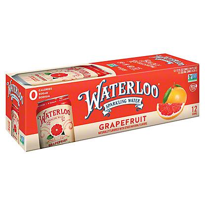 Waterloo Grapefruit Sparkling Water, Ea