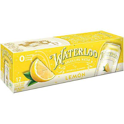 Waterloo Lemon Sparkling Water, Ea