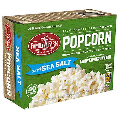 Family Farm Grown Sea Salt Popcorn (3 Pack), Ea
