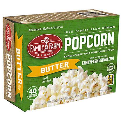 Family Farm Grown Butter Popcorn (3 Pack), Ea