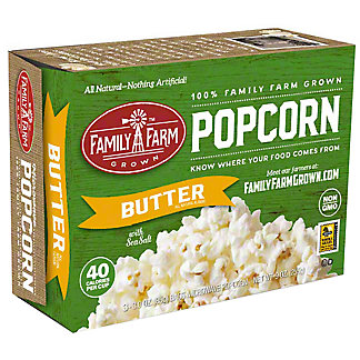 Family Farm Grown Butter Popcorn (3 Pack), Ea