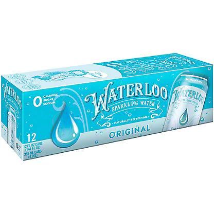 Waterloo Original Sparkling Water, Ea