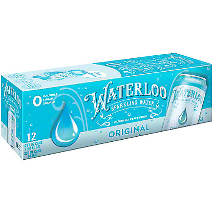 Waterloo Original Sparkling Water, Ea
