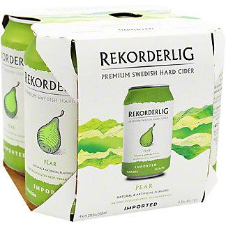 Rekorderlig Pear Hard Cider, 4 pk
