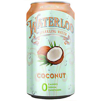 Waterloo Coconut Sparkling Water, 12 oz