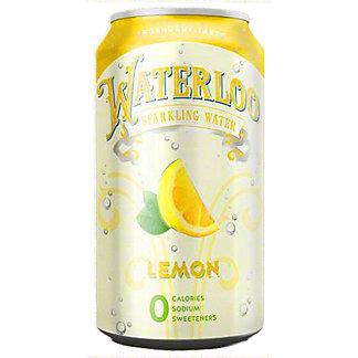 Waterloo Lemon Sparkling Water, 12 oz