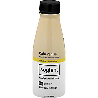 Soylent Ready-to-Drink Meal, Cafe Vanilla, 14 oz