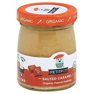 Petitpot Organic Salted Caramel Pudding, 4 oz