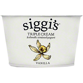 Siggis Triple Cream Vanilla Skyr, 4 oz