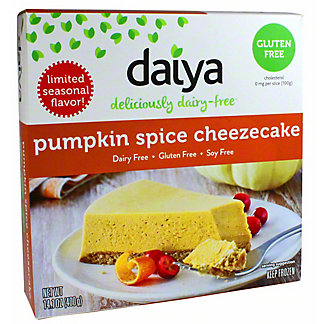 Daiya Pumpkin Pie Cheezecake, 14.1 Oz