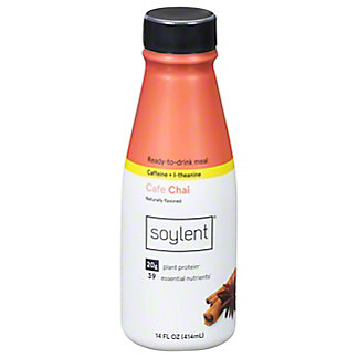 Soylent Ready-to-Drink Meal. Cafe Chai, 14 oz