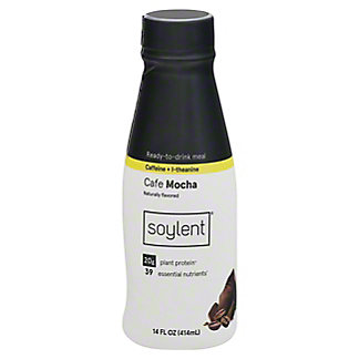 Soylent Ready-to-Drink Meal, Cafe Coffiest, 14 oz