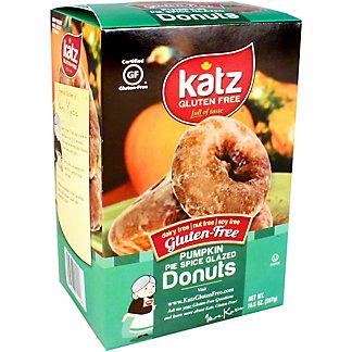 Katz Donut Gluten Free Glazed Pumpkin Spice, 10.5 oz