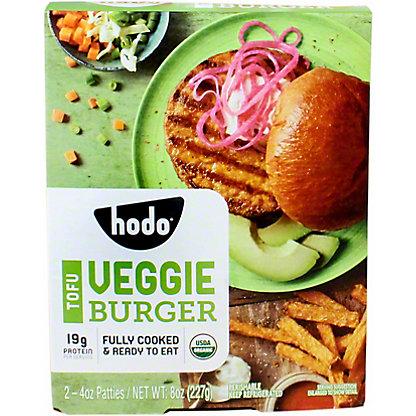 Hodo Soy Tofu Veggie Burgers, 2 ct