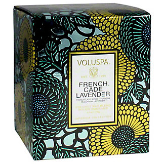 Voluspa French Cade Box Candle, 6.2 OZ