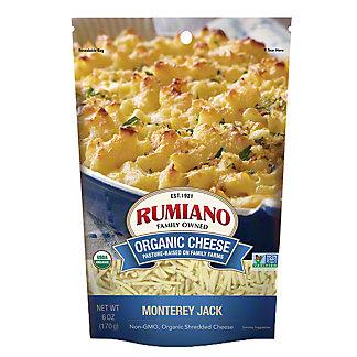 Rumiano Organic Monterey Jack Shredded, Ea