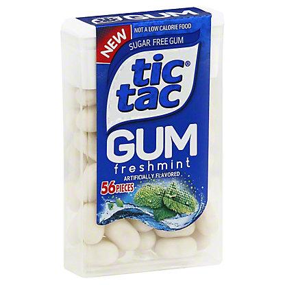 Tic Tac Fresh Mint Gum, 56 ct