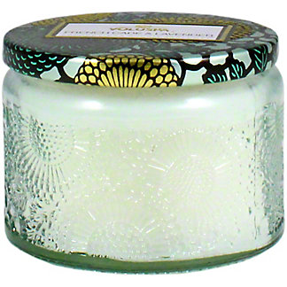 Voluspa French Cade Lavender Small Glass Jar, 4 OZ
