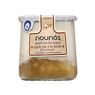 Nounos Apple Pie A La Mode Greek Yogurt, EACH