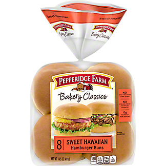 Pepperidge Farm Bakery Classics Sweet N Soft Hamburger Bun, 8 ct