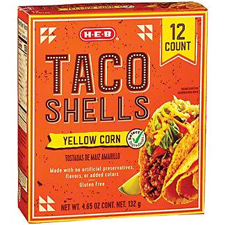 H-E-B Taco Shells, 12 ct