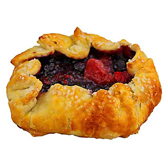 Central Market Rustic Mixed Berries Galette, 4.75 OZ