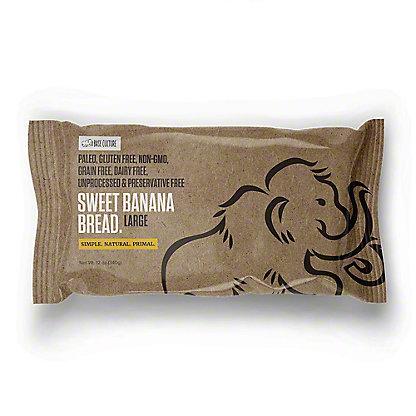 Base Culture Sweet Banana Bread, ea