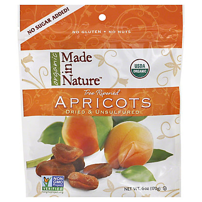 MADE IN NATURE APRICOTS ORG
