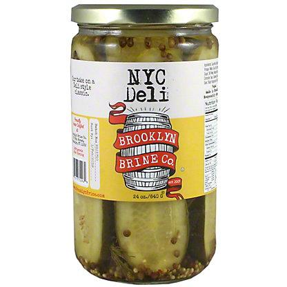 Nyc Deli Pickle Brooklyn Brine, 24 oz