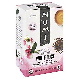 Numi Organic Teas White White Rose Tea, 16 ct